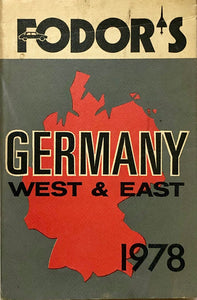Fodor's Germany West & East 1978