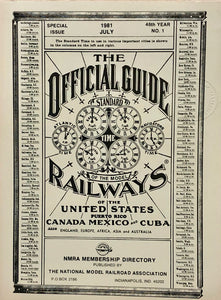 Official Guide of the Model Railways - NMRA Membership Directory, 1981