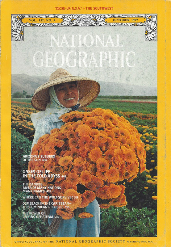 National Geographic: Oct. 1977