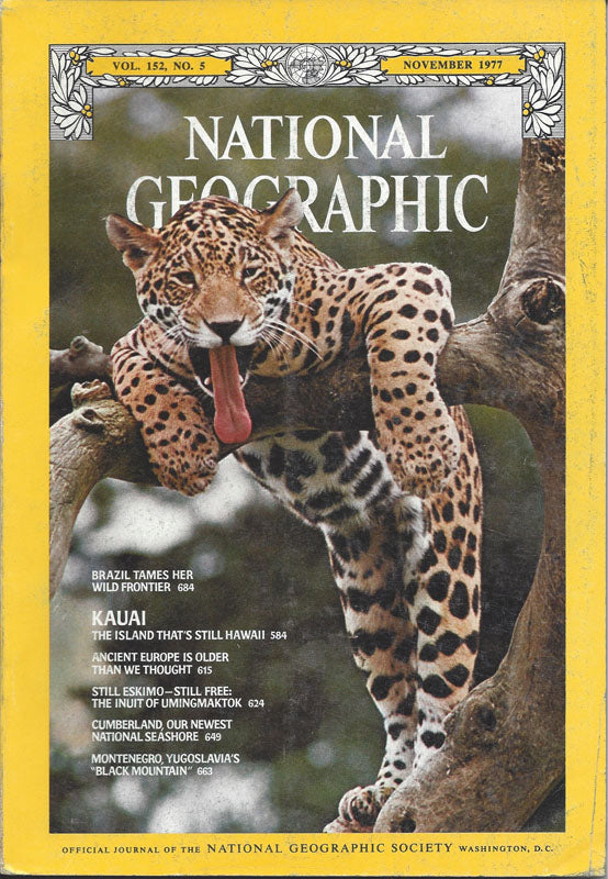 National Geographic: Nov. 1977