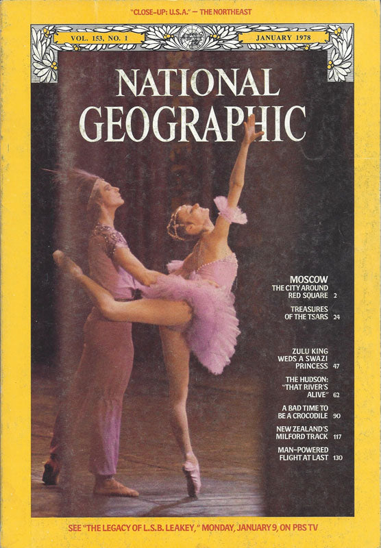 National Geographic: Jan. 1978