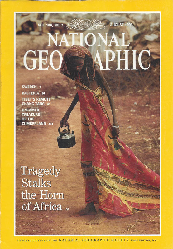 National Geographic: Aug. 1993