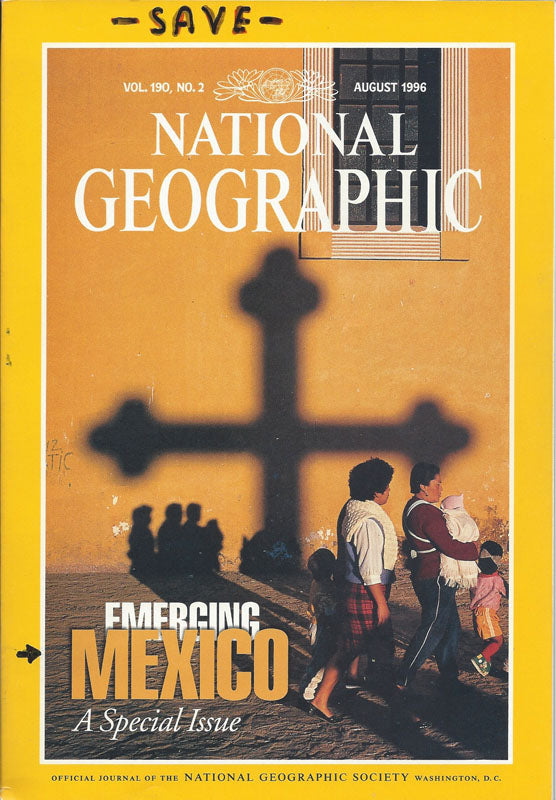 National Geographic: Aug. 1996