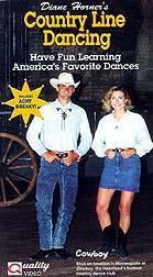 Diane Horner's Country Line Dancing - VHS Video