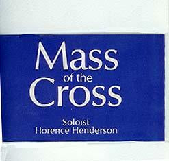 Mass of the Cross - VHS Video
