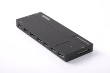 Load image into Gallery viewer, KDLINKS Ultra Slim 10 Ports USB 3.0 All In One Hub Station: 6 Ports USB 3.0 Hub, 3 USB Charger, 1 SD Card Reader - KDLINKS Electronics