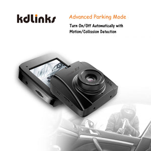 KDLINKS X3 2.7K SUPER HD 2688X1520 WIDE ANGLE DASHBOARD CAR DVR VEHICLE DASH CAM WITH G-SENSOR & WDR NIGHT MODE & LOOP RECORDING, SUPPORT 64/128GB - KDLINKS Electronics