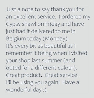 review by Suzanne from Brussels