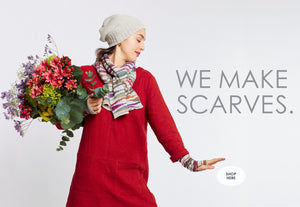 We Make Scarves McKernan Woollen Mills