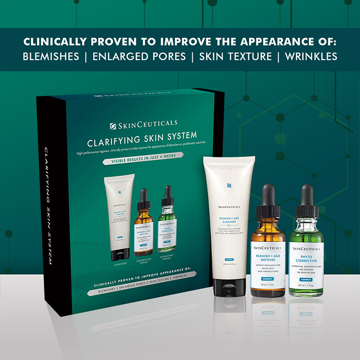 CLARIFYING SKIN SYSTEM 2020 aka Anti-Acne Kit - MEDfacials