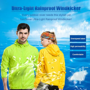 Ultra-Light Rainproof Windkicker