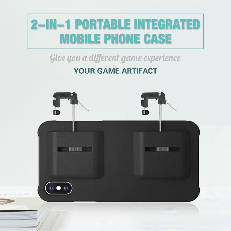 2-in-1 Portable Integrated Mobile Phone Case