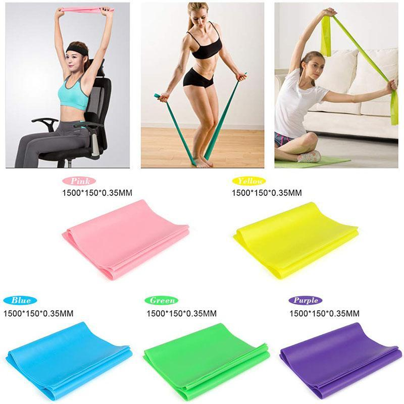 Resistance Bands - Professional Latex Elastic Exercise Bands All Workout