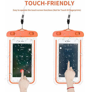 Luminous Mobile Phone Waterproof Bag