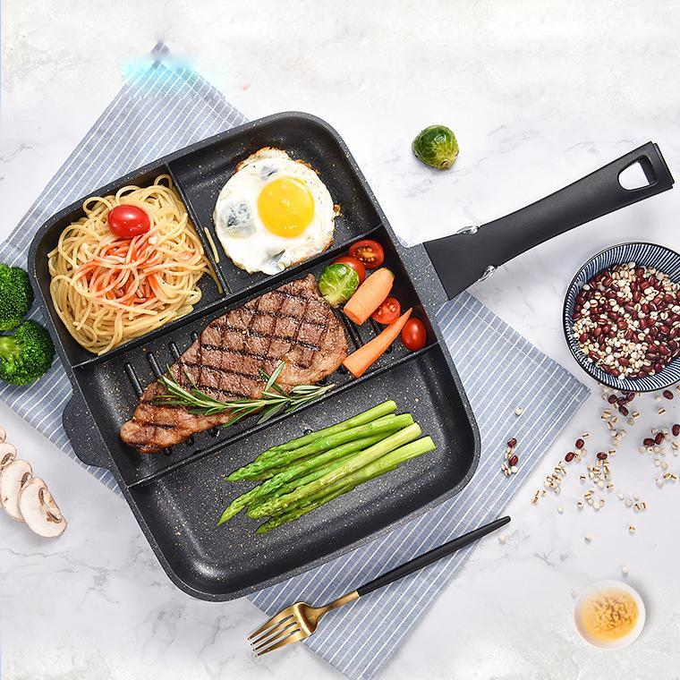 4 In 1 Maifan Stone Non-stick Pan