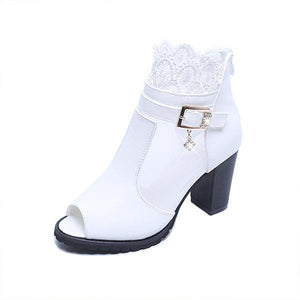 Ladies Open Toe High Heel Sandals