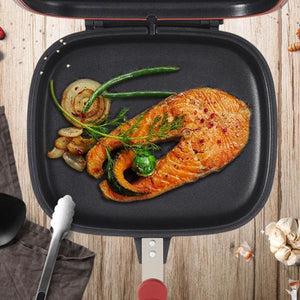 Square Double-sided Frying Pan