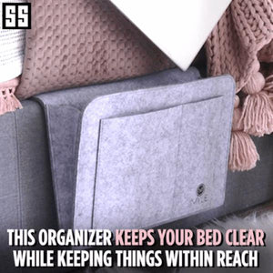 Bedside storage bag