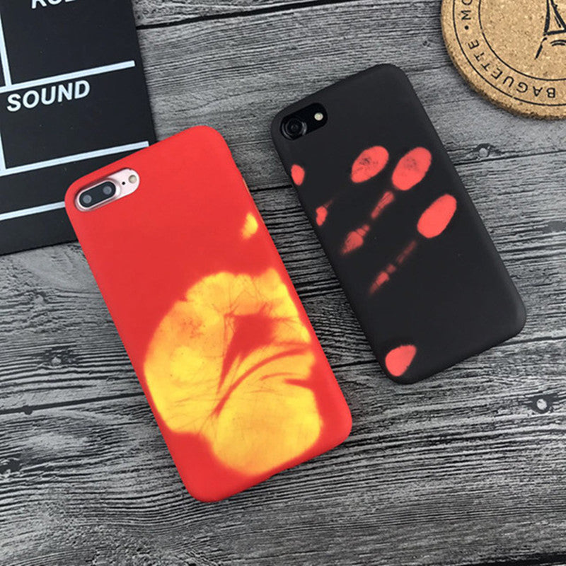 Fashion Physical Thermal Discoloration Phone Case