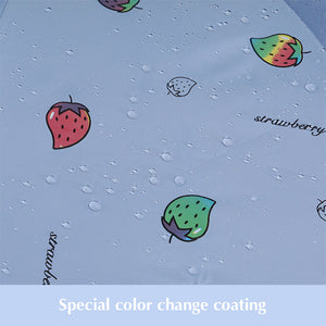 Strawberry Color Changing Umbrella