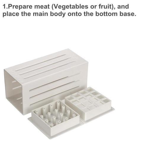 Meat Skewer Kabob Maker Box