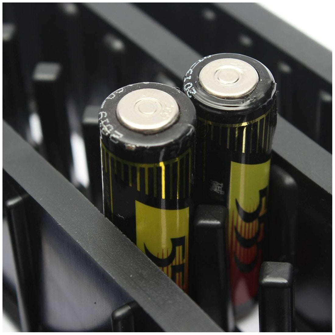 Battery Storage Organizer with Battery Tester