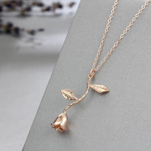 En Fleurs ~ Rose Gold Necklaces - Shop Realign