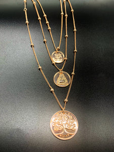 PEACE Coin Necklace - Shop Realign