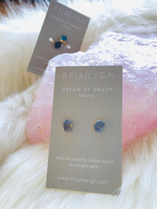 Druzy Raw Earrings - Shop Realign