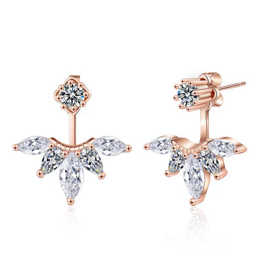 Jen Jet Set Gold Leaf Stud - Shop Realign