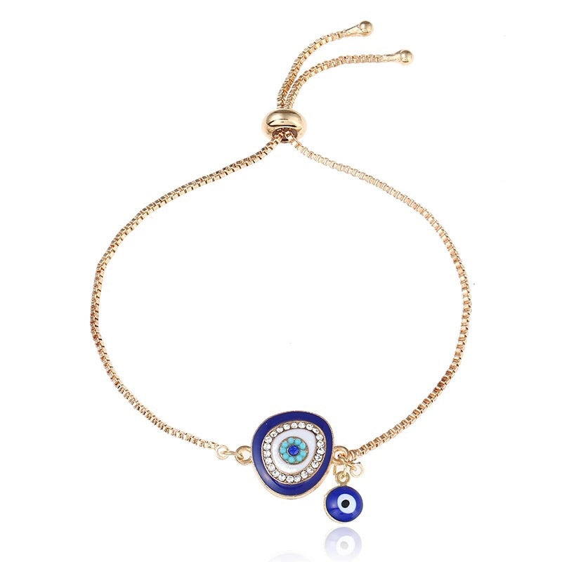 Lucky Eye Turkish Adjustable Bracelet - Shop Realign