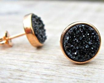 Crushed Druzy Studs - Shop Realign
