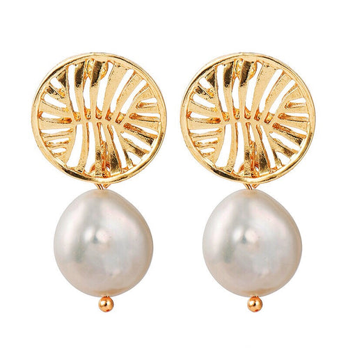 Baroque Pearl Dynasty Earring - Shop Realign