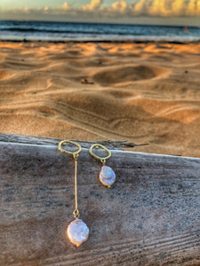 Perfectly Imperfectly Me Baroque Irregular Pearl Earrings - Shop Realign