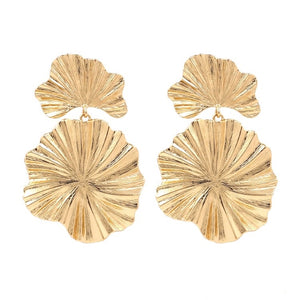 Golden Blossoms Drop Earrings - Shop Realign
