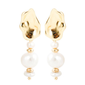 Teah Muse Baroque Pearl Drop Earrings - Shop Realign