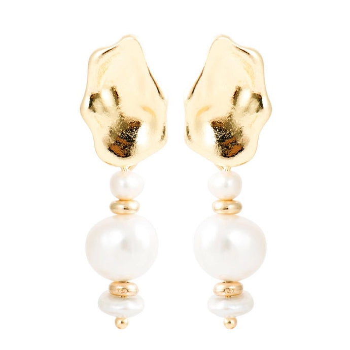 Teah Baroque Pearl Drop Earrings - Shop Realign