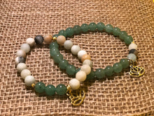 POWER OF TRUTH ~ Amazonite x Aventurine  Bracelets - Shop Realign