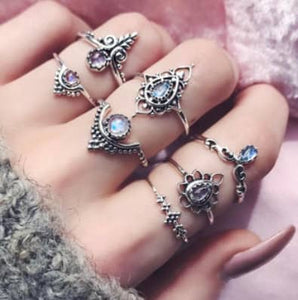 Boho Ring  Stack - Shop Realign