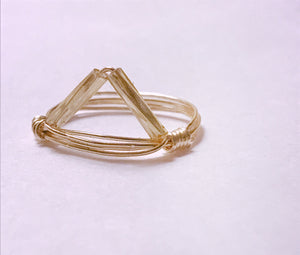 Trinity Gold Ring - Shop Realign