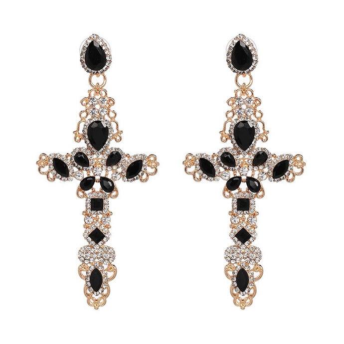 Romance Cross Earrings - Shop Realign