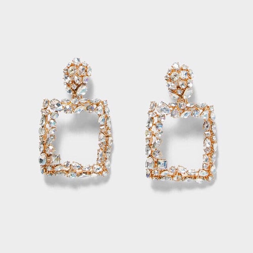 Sierra Rhinestone Earrings - Shop Realign