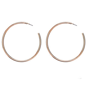 Kimber Gold Hoop Earrings - Shop Realign