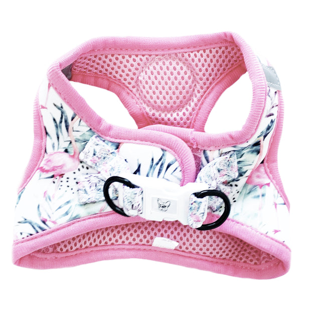 Pink Flamingo - Step-in Harness