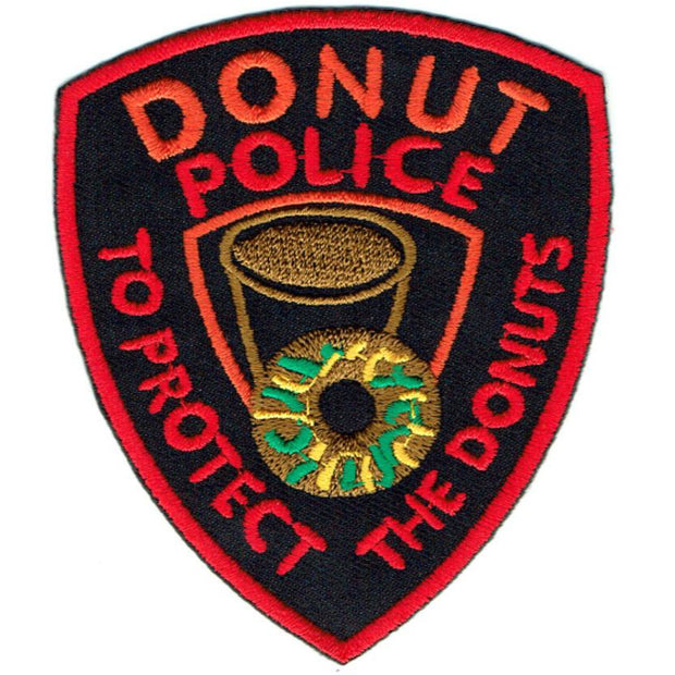 Transfers - Iron on - 'Donut Police'