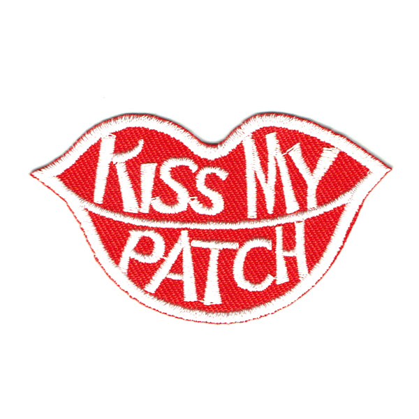 Transfers - Iron on - 'Kiss my Patch'