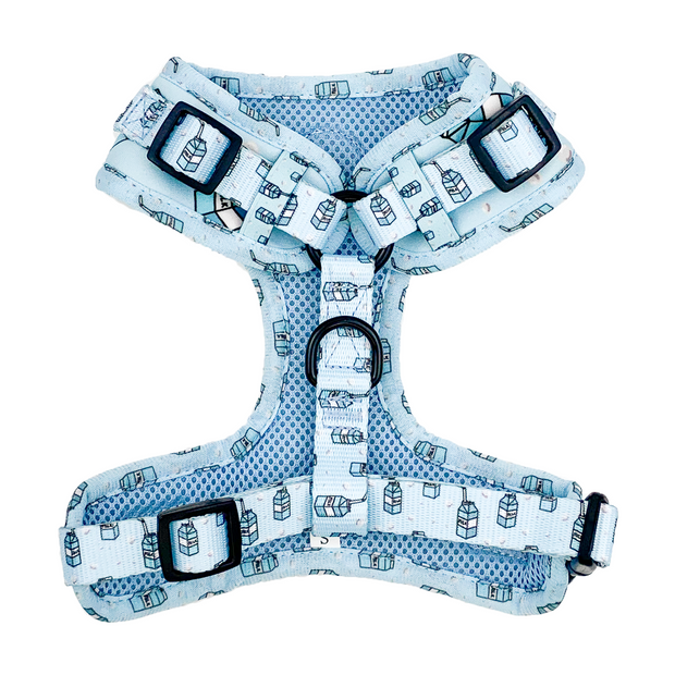 Blue Milk Carton - Adjustable Harness.