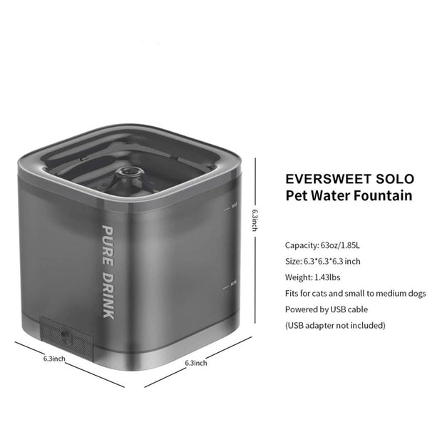 Eversweet Water Bubbler Drinking Fountain – Blue