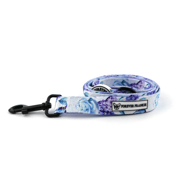 Purple Floral - Dog Lead