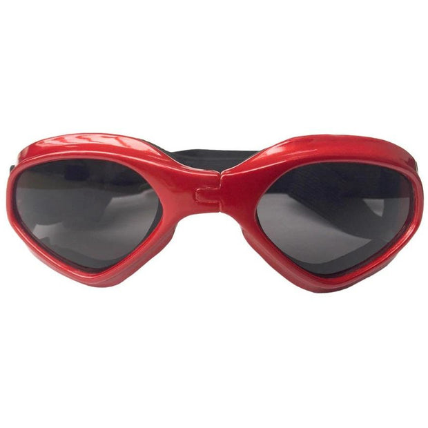 Dog Sun Goggles RED